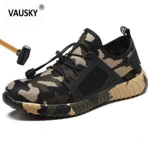 WerkSneakers | Camo Breathable Mesh