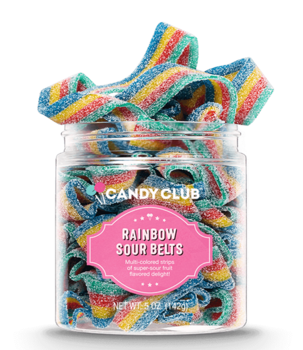 Rainbow Sour Belts (Large)
