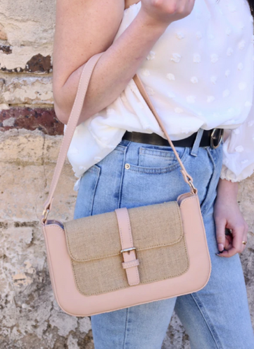 Aretha Shoulder Bag - Blush