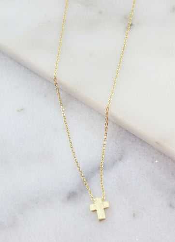 Charmie Petite Cross necklace