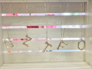 XOXO Initial Necklace