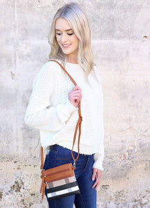 McDowell Plaid Crossbody