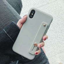 Load image into Gallery viewer, Wrist Strap Phone Case For iPhone