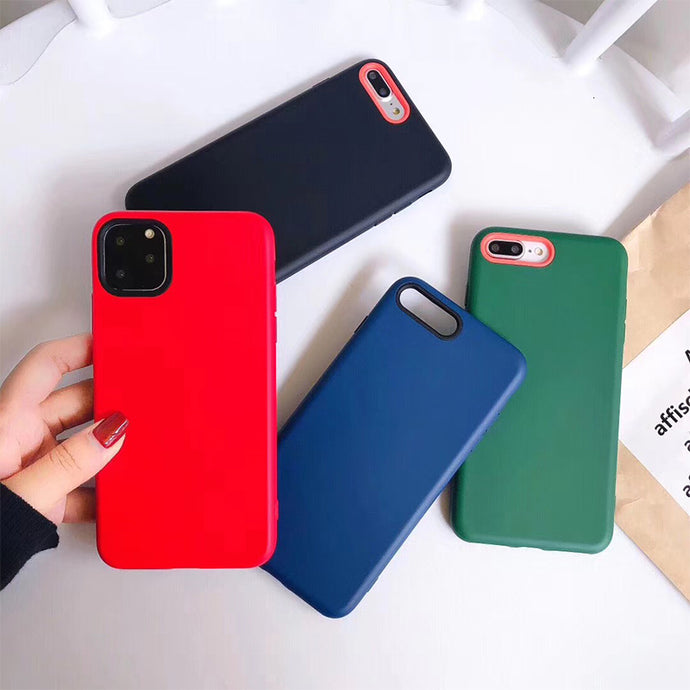 High Quality Liquid Silicone Phone Case For iPhone