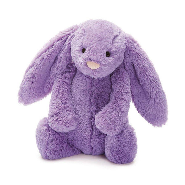 Large Cuddly Bashful Long Eared Baby Bunny Rabbit - Purple 41cm - instige.myshopify.com
