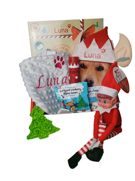 Personalised Dog Christmas Eve Gift Box 2020