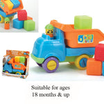 TIPPER TRUCK WITH BLOCKS 18+ MONTHS