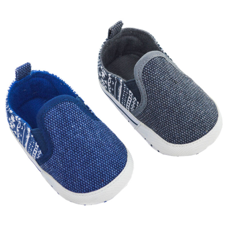 Printed Slip On Shoes (6-15 Months) - instige.myshopify.com