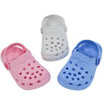 Plain Cloggs -  Pink Blue and White (9-24 Months) - instige.myshopify.com