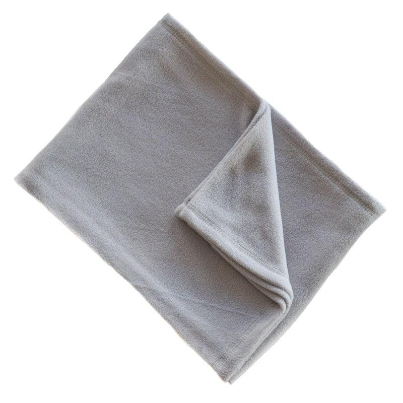 Plain Grey Fleece Wrap - instige.myshopify.com