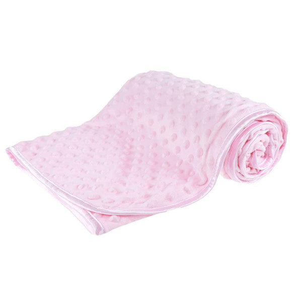 Pink Bubble Embossed Micro Wrap - instige.myshopify.com