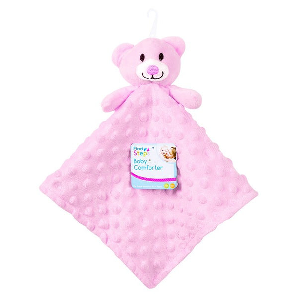 SOFT DOUBLE SIDED BABY COMFORTER BLANKET (PINK ONLY) - instige.myshopify.com
