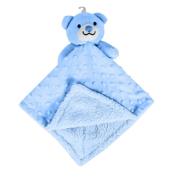 SOFT DOUBLE SIDED BABY COMFORTER BLANKET (BLUE ONLY) - instige.myshopify.com