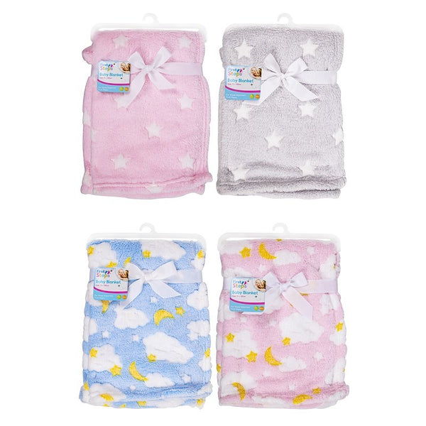 SUPERSOFT FLEECE BABY BLANKET - instige.myshopify.com