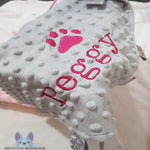 Personalised chewy comforter for pet - Grey - instige.myshopify.com