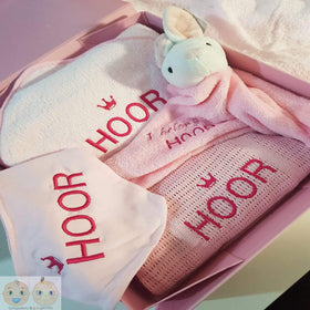 Personalised New Born Gift Bundle - Pink