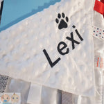 Personalised pet comforter - Snugdem Boogums