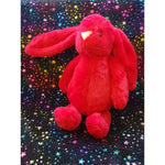 Large Bashful Bunny Rabbit - Red - instige.myshopify.com