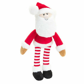 Christmas Dangly Cuddly Soft Santa 12cm