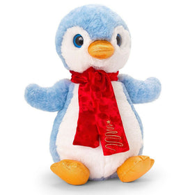 Christmas Penguin with Scarf