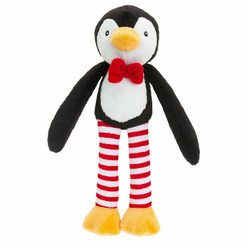 Christmas Dangly Cuddly Soft Penguin 12cm - instige.myshopify.com