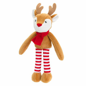 Christmas Dangly Cuddly Soft Reindee 12cm