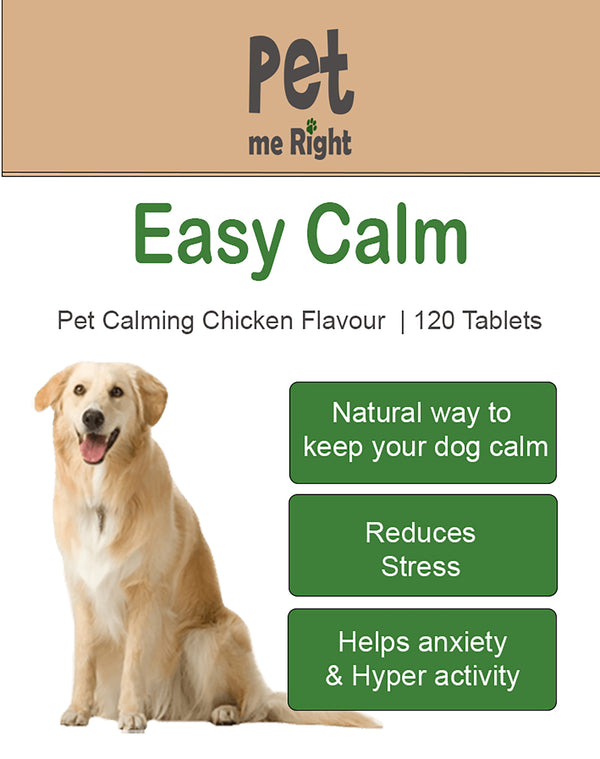 Easy Calm for dogs - 120 Tablets