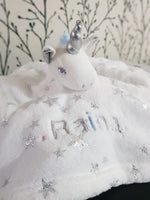 Personalised Unicorn Comforter with Stars - instige.myshopify.com