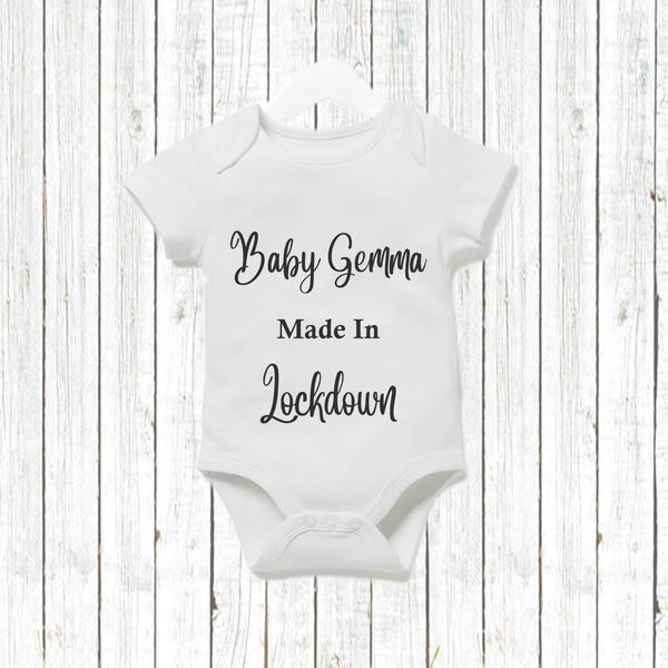 baby made in lockdown  - Snugdem Boogums