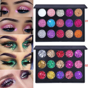 15 Colors Eye Shadow Matte Pearly Lustre Palette