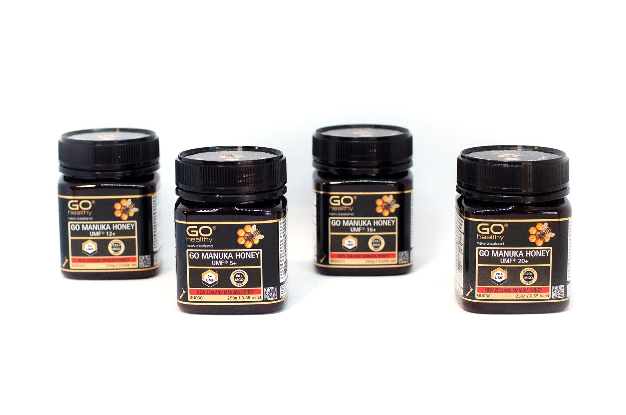 5+ UMF (80+ MGO) Go Manuka Honey 250g