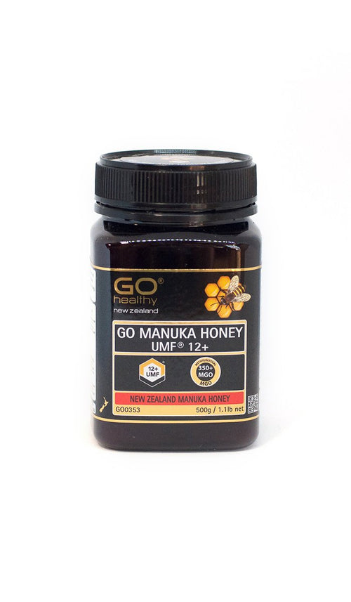 12+ UMF (350+ MGO) Go Manuka Honey 500g