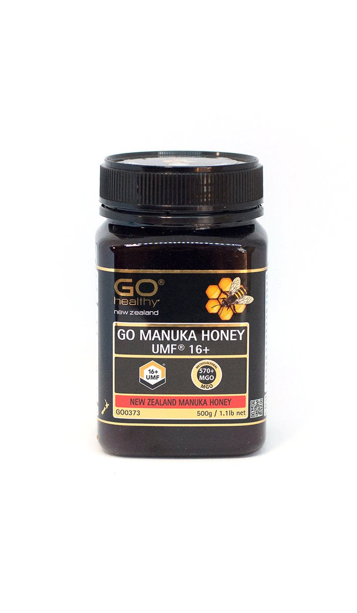 16+ UMF (570+ MGO) Go Manuka Honey 500g