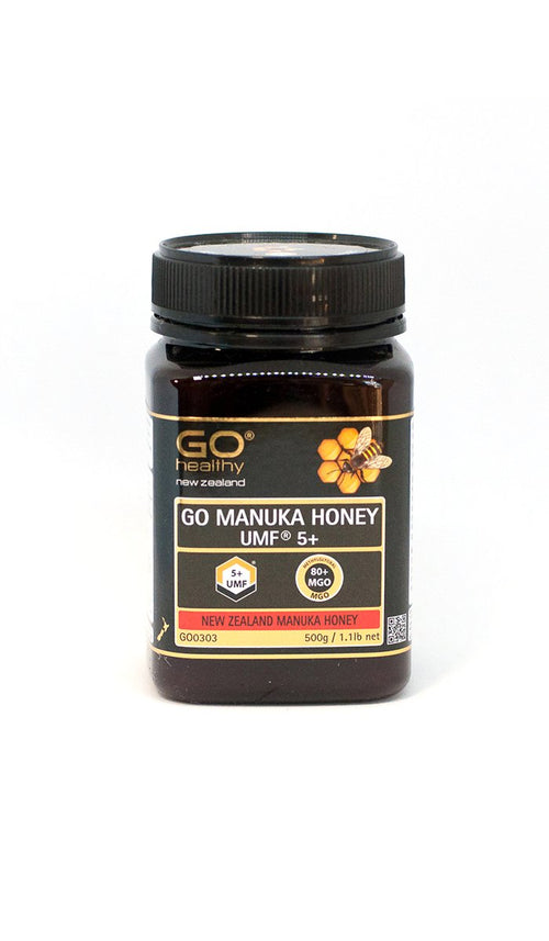 5+ UMF (80+ MGO) Go Manuka Honey 500g