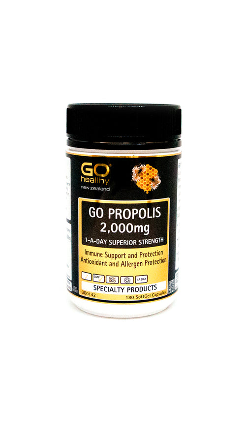 Go Propolis 2,000mg 180 SoftGel Capsules