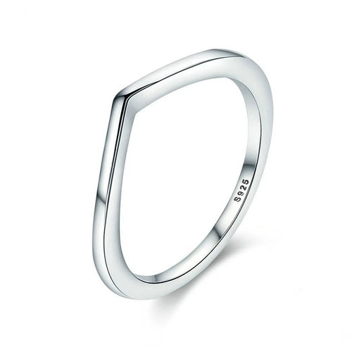 Sterling Silver Shining Wish Female Ring