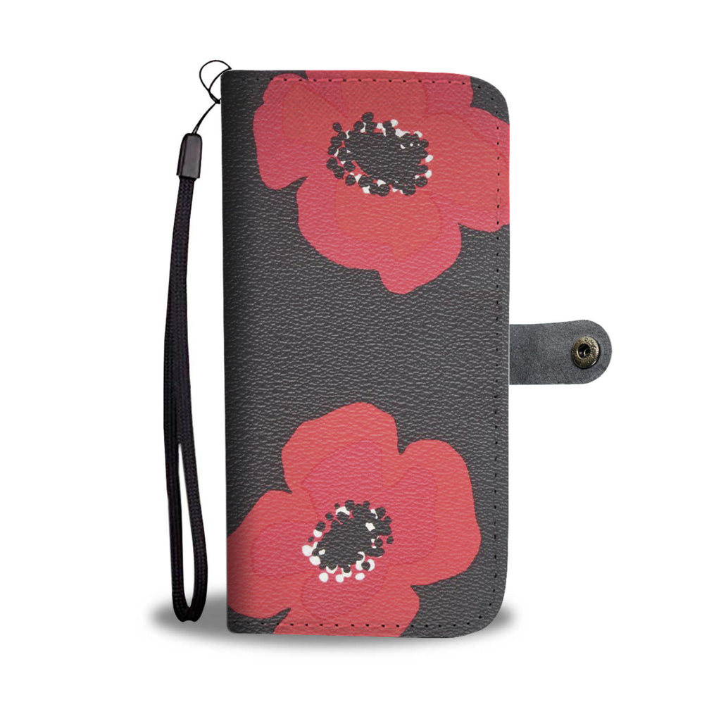 Red Poppy Wallets for Remembrance Day