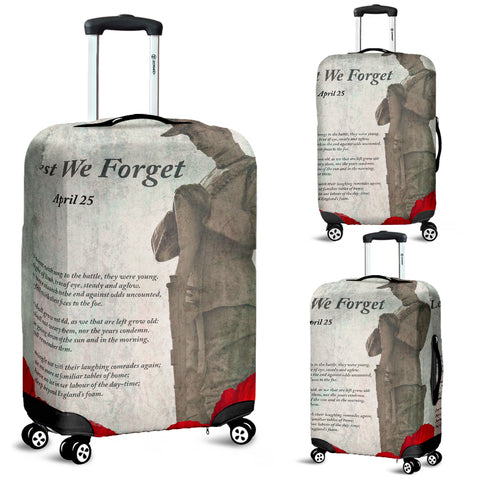 Luggage Covers Lest We Forget Remebrance Daay
