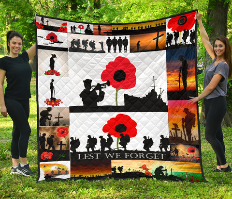 Lest We Forget Quilt Vets