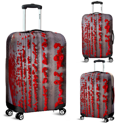 Lest We Forget Luggage Covers Remembrance Day Vets