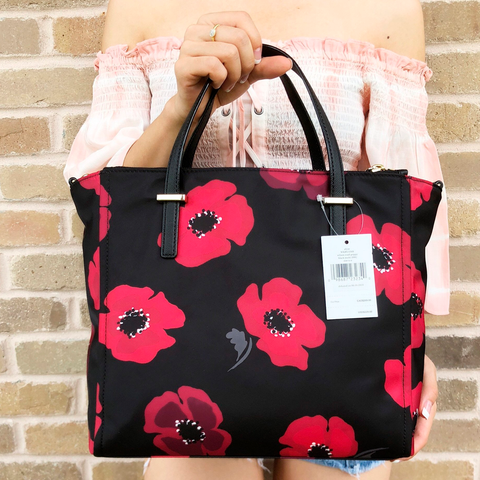 Handbags Red Poppy for Remembrance Day