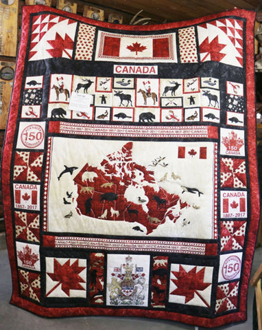 Redvers run down for Canada's 150th Premium Quilt