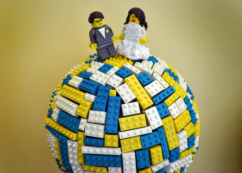 Lego Wedding Sculpture