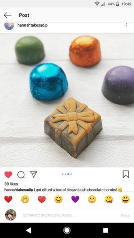 Instagram Lush Feedback