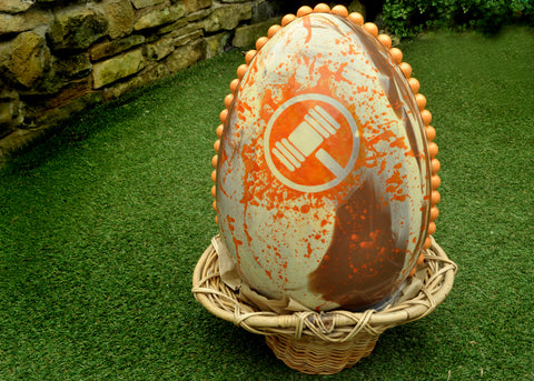 Corporate Giant Easter Egg for T.L.H. Auctioneers