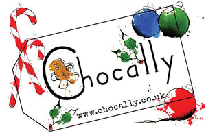 Chocally Christmas Logo