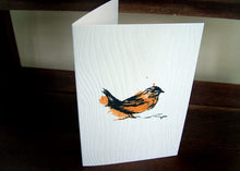 Wren Handmade Bird Card