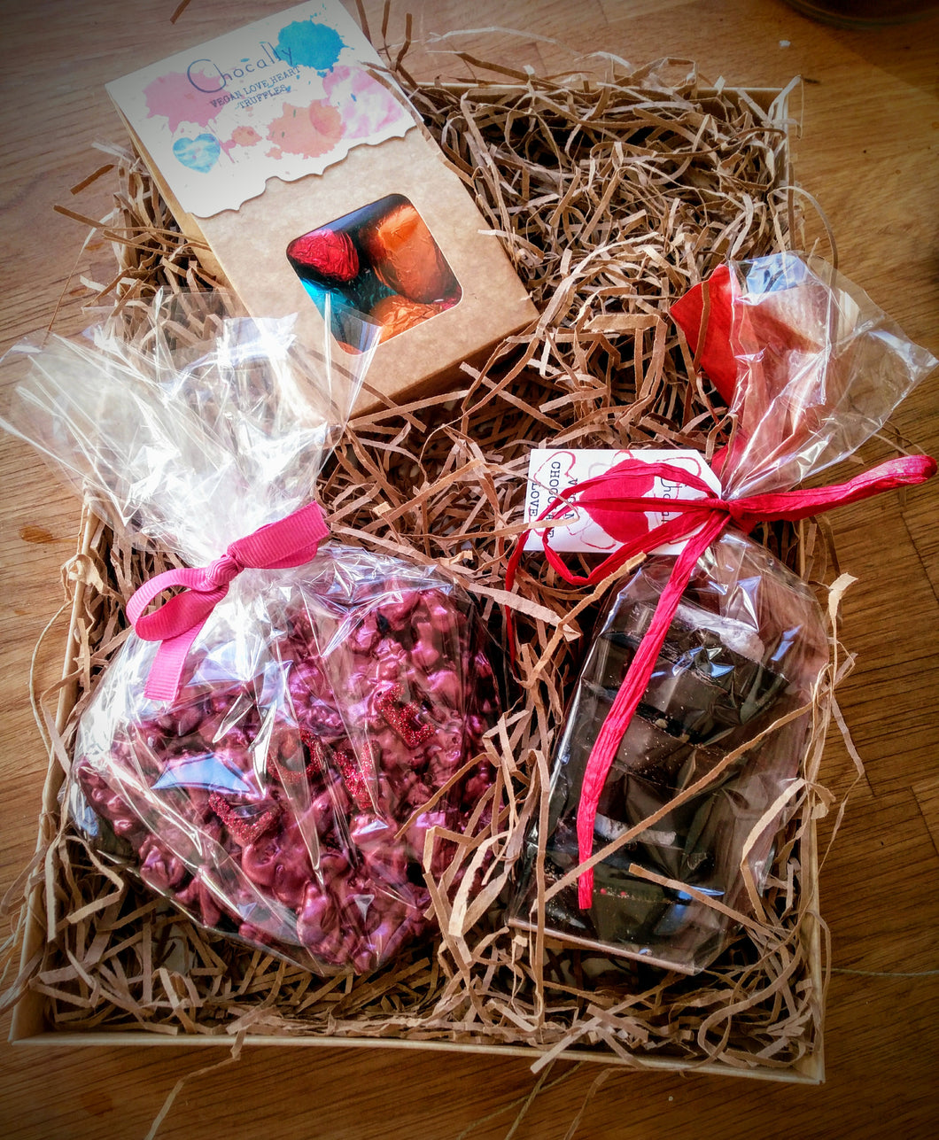Vegan Valentine box