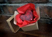 Fluffy Vegan Chocolate Heart in a Box