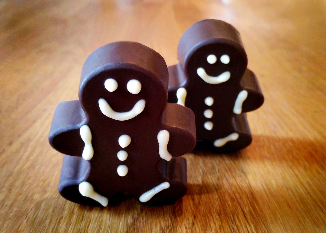 Vegan Chocally Gingerbread Men